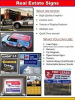 Looking for Signage that GRABS Buyers & Sellers ATTENTION?