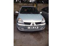 Clio 1.2 £499 offers 2003