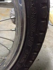 Dunlop Gold motorcycle tire