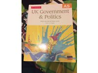 AS U.K. government and politics 2nd edition
