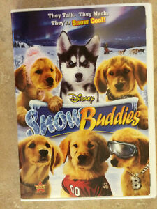 DISNEY'S SNOW BUDDIES MOVIE DVD