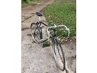 Men's Raleigh retro sun solo. Vintage road racer. Retro bike.