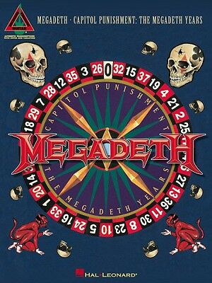 Megadeth Capitol Punishment: The Megadeth Years Sheet Music Guitar Tab 000690481