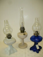 Vintage Oil Lamps -- FROM PAST TIMES Antiques - 1178 Albert St