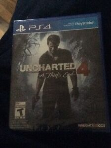 Uncharted 4: A Thief's End for the PS4 NEW & SEALED