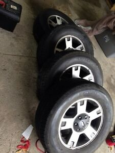 Factory 2008 Ford F-150 fx4 rims X4 285/60/18