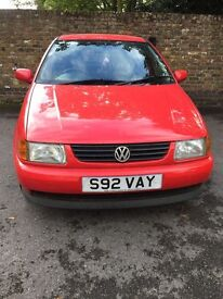 VW POLO 1.4 CL RED