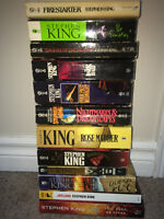 REDUCED PRICE!! Stephen King lot of 12 Paperback Books