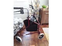 3 wheeled trolley