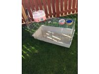 Rabbit/Guinea Pig cage with accessories