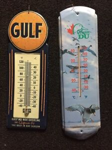 Ducks unlimited GULF steal thermometers NEW CONDITION