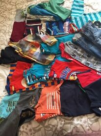 Huge boys clothes and shoes bundle 4-5 5-6 years 70 items +