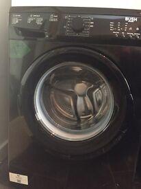 Bush Washing Machine in Black, only 9 months old