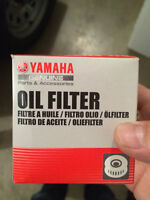 Yamaha oil filter New, still has plastic on