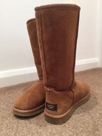 Genuine adult tall ugg boots size 5.5