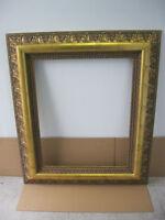 Gold Leaf Picture Frame/Cadre Feuille D'or  24x30 Nouveau