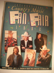 Country Music - Fan Fair Magazine from 1992