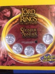 Lord of the Ring The Two Towers Coinset