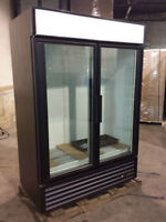 TWO DOOR COOLERS FREEZERS - FINANCING AVAILABLE TODAY!!!