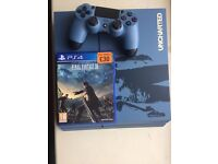 PS4 Special edition with game and controller