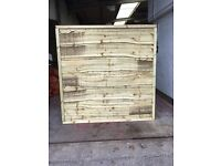Waneylap fence panels 8mm or 10mm