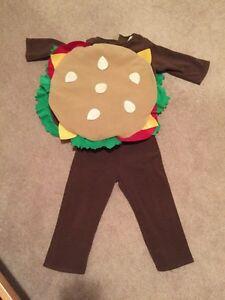 Hamburger costume for 2T-3T