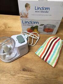 Linda mini blender and Gro portable high chair