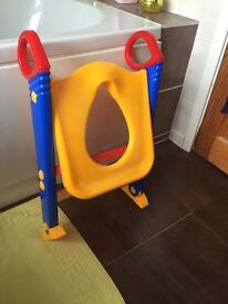 Toilet Training Seat with Steps