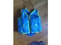 Speedo swim aid/float jacket age 2-3