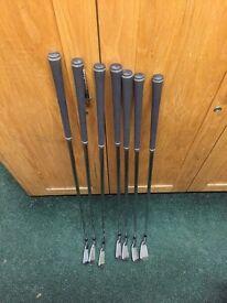 Taylormade mc irons 4-p Kbs stiff shaft
