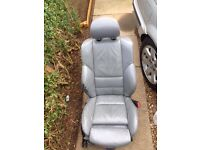 Bmw e46 3 series saloon grey leather m sport seats and door cards