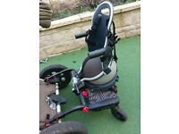 Lascal buggy board and buggypod perle