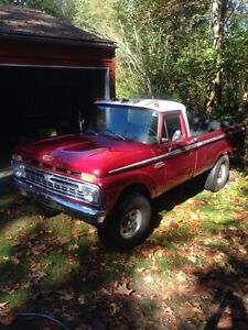 66 Ford pick-up