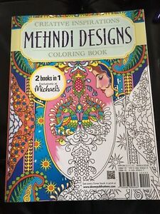 Adult 2 in 1 large colouring book