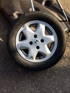 4 tires and rims possible trade