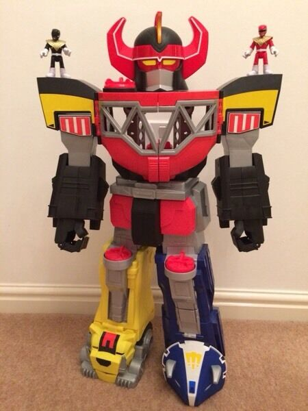 Fisher-Price Imaginext Power Rangers Morphing Megazord *REDUCED*