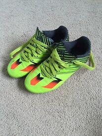 Kids Adidas Messi Football Boots Size 12