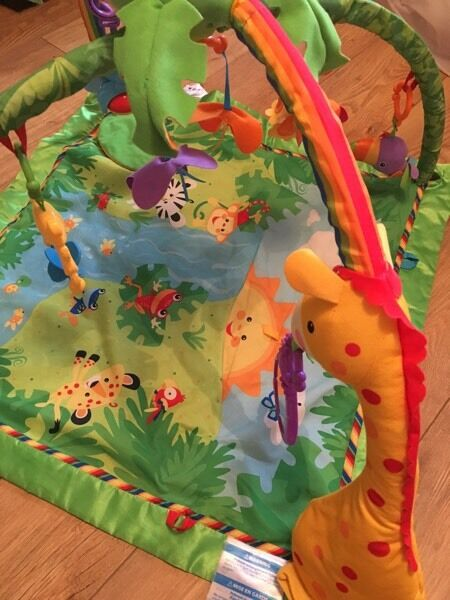 Fisher-Price Rainforest Baby Play Gym