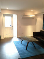 NEW townhome basement college ossington little italy