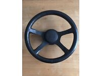 Ford RS Steering wheel for Mk3 Escort, RS1600i an S1 Escort turbo