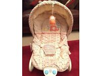 Musical & Vibrating Baby Bouncer / Recliner Seat