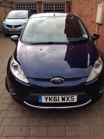 61 Plate Ford Fiesta 1.2 5 door