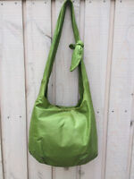 M0851 Apple Green Knotted Shoulder Bag