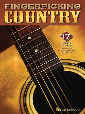 Fingerpicking Country Sheet Music Guitar Solo NEW 000699687