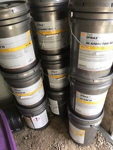 Shell spiral axle oil. Synthetic