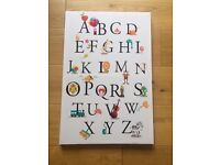 Alphabet Canvas Picture