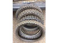 MotoX tyres