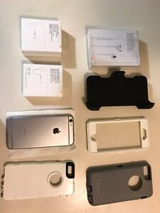 iPhone 6 128 gb with a lot extra included