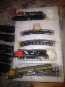 Electric n scale for cheap