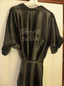 'Mother of the Bride' Satin diamanté robe